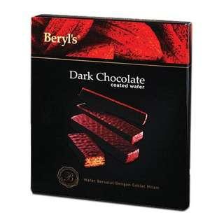 Beryl's Wafer Coated With Dark Chocolate