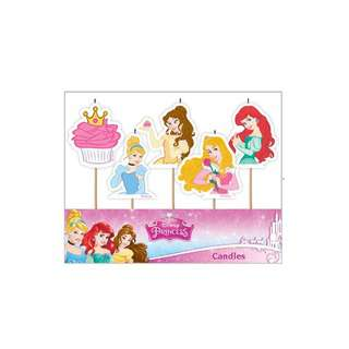 IG Design Group 5 Pick Candle - Disney Princesses