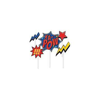 IG Design Group Party Cake Topper Pack - Superheroes