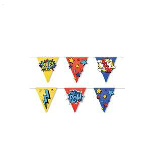 IG Design Group Party Bunting - Superheroes