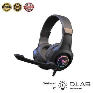 D.LAB MANUFACTURING Dynamic Wired Gaming Headphones