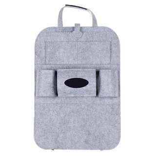No Brand Basic A light gray car seat organiser