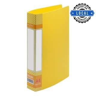 Alfax RF522 2D25mm Ring File A4 Yellow