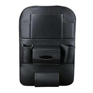 No Brand Basic B Black car seat organiser