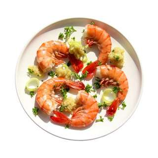 Meals In Minutes Chinese Steamed Prawns
