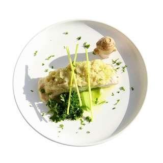 Meals In Minutes Ginger Garlic Steamed Fish - Barramundi