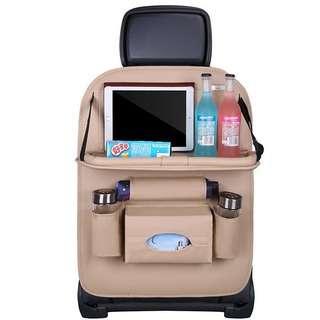 No Brand Table design Beige car seat organiser