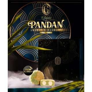 Golden Moments Classic Pandan Snowskin Mooncake