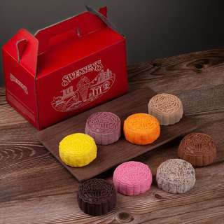 Swensen's Signature Set - mochi-snowskin Ice Cream Mooncakes