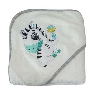 Bebe Bamboo Hooded Towel - Zebra