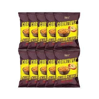 BONZ CORNTWIZ Corn Snack 10x70G - Chilli Cheese