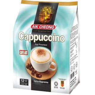 Aik Cheong Caf Art Cappuccino