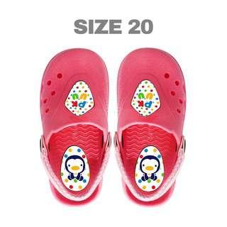 Puku Kid Clogs Size #20 Pink