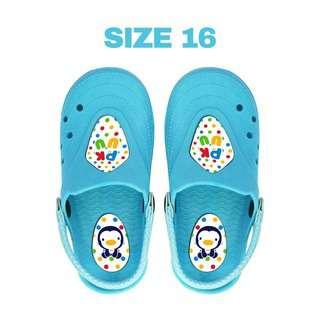 Puku KID CLOGS Size #16 Blue