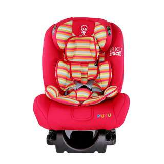 Puku Space ISOFIX Car Seat - Red