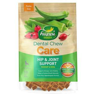 Happi Doggy Dental Chew Care (Hip & Joint Support)