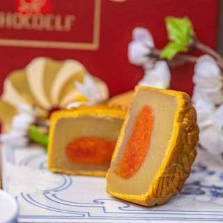 Chocoelf Sugar-Free Lotus Soy Yolk Bakeskin Mooncake