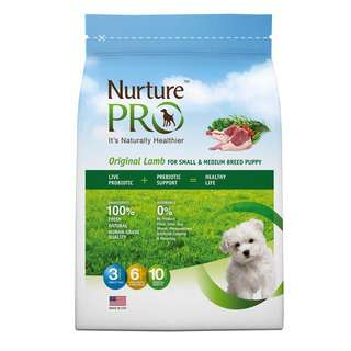 Nurture Pro Original Lamb for Small & Medium Breed Puppy