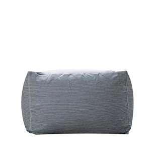 HOUZE Laxla Bean Bag - Denim Grey Stripes