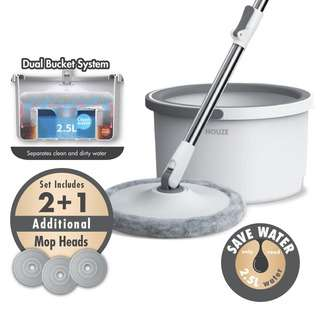 HOUZE The Clean Water Spin Mop