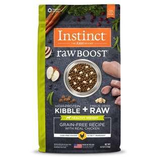 Instinct Raw Boost Grain Free Healthy Weight  Dog Food