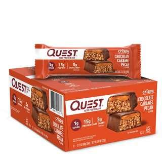 Quest Nutrition Hero Protein Bar Chocolate Caramel Pecan