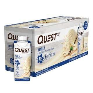 Quest Nutrition Protein Shake Vanilla