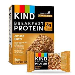 KIND Gluten Free Breakfast Bars Almond Butter - 8 Bars