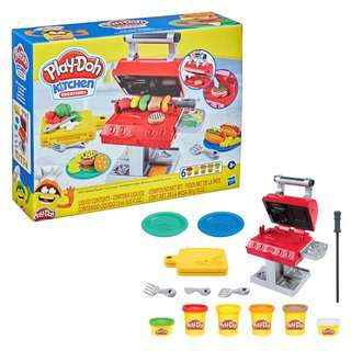 Play-Doh Kitchen Creations Grill and Stamp Playset
