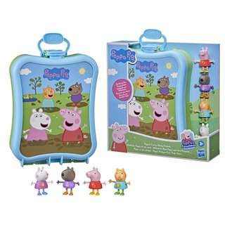 Peppa Pig Adventures Peppa's Carry-Along Friends Case