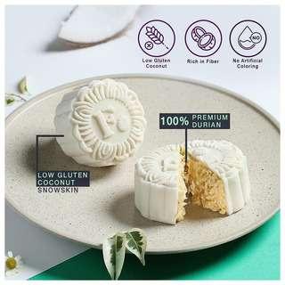 FORBIDDEN Coconut Snowskin D24 Durian Mooncake