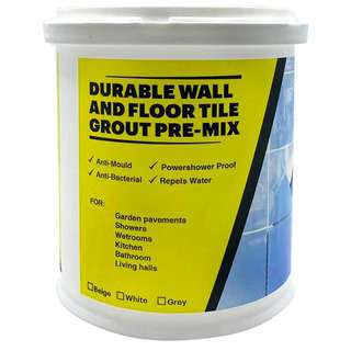 Yellowyellow Durable Wall & Floor Tile Grout- White
