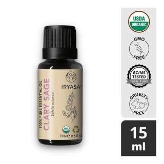 Iryasa Organic Clary Sage Essential Oil
