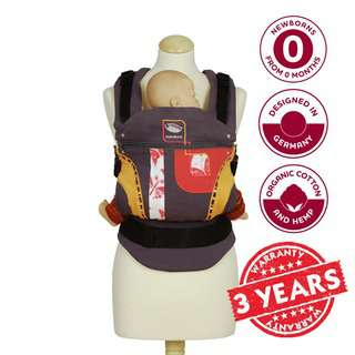 Manduca First Limited Edition Orange Dream Baby Carrier