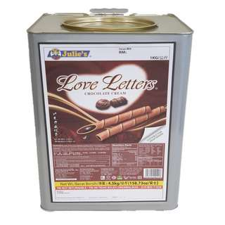 Julie's Chocolate Love Letters (Big Tin)