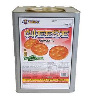 Julie's Cheese Crackers (Big Tin)