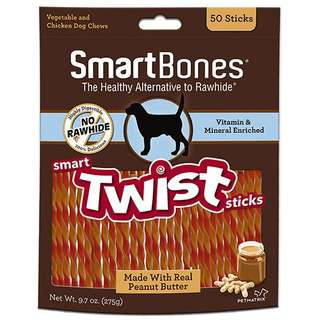 Smartbones Twist Stick Peanut Butter