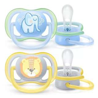 Philips Avent BPA-Free Premium Ultra Air Soother 0-6M