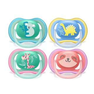 Philips Avent Premium Ultra Air Soother Assorted - 18M+
