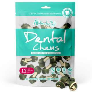 Altimate Pet Dental Chew Mint Knotted Bone