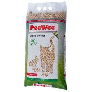 Pee Wee Pine Wood Pellets Cat Litter