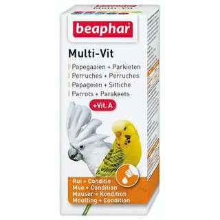 Beaphar Multi-Vit Plus Vitamin A for Parrots and Parakeets