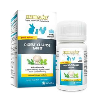 Natural Pet Digest-Cleanse Tablet for Small Animals