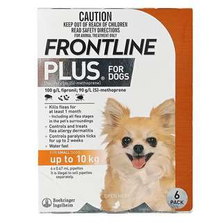 Frontline Plus for Small Dogs (up to 10kg)