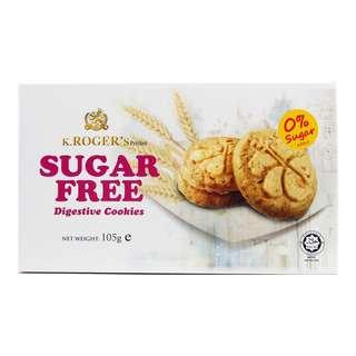 K. Rogers Sugar Free Digestive Cookies