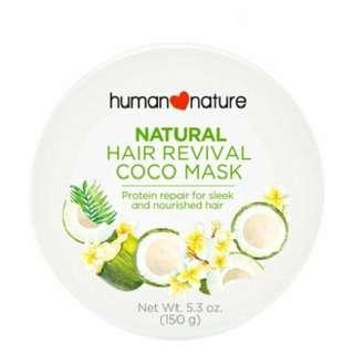 Human Nature All-Natural Hair Revival Coco Mask