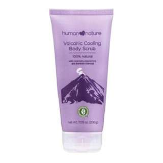 Human Nature All-Natural Volcanic Cooling Body Scrub