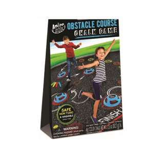 IG Design Group Obstacle Course Chalk Game