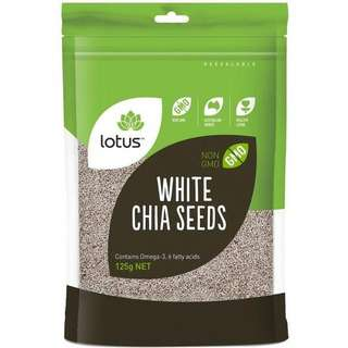 Lotus White Chia Seeds