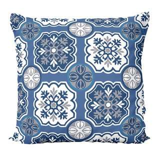 HOUZE LIV Peranakan Cushion Cover - Blue C